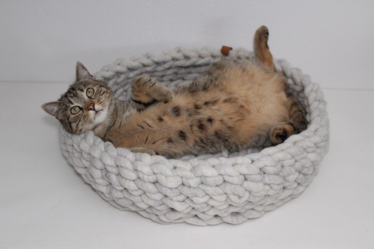 Katzenbett Wollkuschler EINmalig Cozy